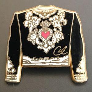 Vintage Christian LaCroix pin enamel Toreador ⭐️